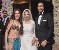 صور| زفاف «محمد وإيمان» بتوقيع دينا