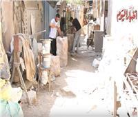 حكايات| من فضلات الرخام لأفواه المصريين.. هل ينقرض حجر عجن الطعمية؟
