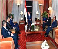 «السيسي» لـ«بن زايد»: تعزيز التعاون العربي ضرورة لمواجهة التدخل في شئون بلادنا