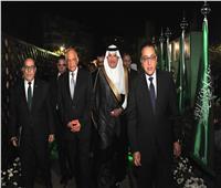 بحضور مدبولي وعبد العال.. سفارة السعودية تحتفل باليوم الوطني الـ88