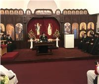 البابا تواضروس يزور كنيسة العذراء والبابا أثناسيوس في هيلز