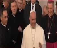 فيديو| البابا فرانسيس يواصل زيارته إلى لاتفيا