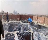 صور | محافظة الجيزة تعلن الحرب على مخالفات البناء