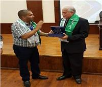 رئيس الوفد الجزائري: المؤتمرات الثقافية في مصر تعمل علي توحيد الشباب العربي.. صور