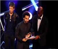صور| ليفربول يحتفي بـ«صلاح» بعد فوزه بجائزة بوشكاش