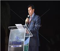 أشرف صبحي: السيسي حريص على استضافة مصر للعديد من البطولات العربية