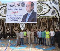 صور| مرور منيا القمح ينضم لمبادرة «كلنا واحد» لاستخراج رخص القيادة