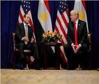فيديو| الرئيس الأمريكي: نتعاون مع مصر في مجال مكافحة الإرهاب