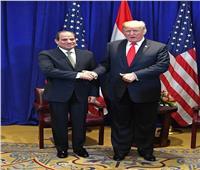 الرئيس السيسي: دونالد ترامب شخصية عظيمة