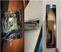 صور| اشتعال النيران في هاتف «سامسونج» Galaxy S7 Edge