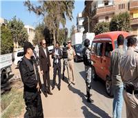 مدير أمن القليوبية يقود حملات أمنية ومرورية بدائرة مركز طوخ