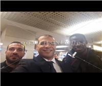 بعثة النادي الأهلي تغادر إلى لبنان للقاء النجمة في البطولة العربية