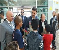وفد من دولة سلوفاكيا في زيارة لمستشفى سرطان الأطفال 57357