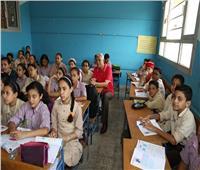 محافظ المنوفية يشهد الحصة الأولى للرياضيات بمدرسة الشهيد عبدالرحمن الديب
