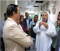 برلمانيون وقيادات محافظة الإسماعيلية يزورن الطلبة المصابين بـ«حادث الكيلو 11»