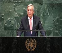 جوتيريس: حل الدولتين بين فلسطين وإسرائيل أصبح بعيد المنال