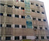 انتظامالعمل داخل مستشفى حميات دمنهورعقب وفاة عامل زراعي
