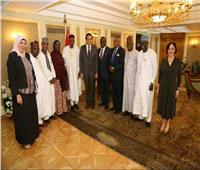 خالد عبد الغفار يبحث مع وفد الجامعات النيجيرية سبل التعاون بين البلدين