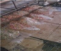 صور| ضبط 12 طن مصاصات وملبس مجهولة المصدر داخل مصنع بأكتوبر