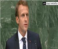 «ماكرون»: المبادرات الأحادية لحل النزاع الفلسطيني لا تجدي نفعا
