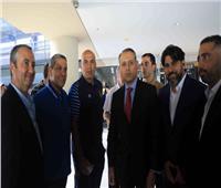 السفير المصري في لبنان يدعو بعثة الأهلي للعشاء
