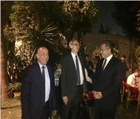 العناني يشارك في احتفالية المعهد الألماني للبدء في موسم العمل الأثري