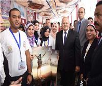 صور  مبادئ جديدة لجامعة القاهرة في حوار مفتوح بين «الخشت» والطلاب