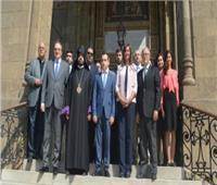 اليوم.. نبيلة مكرم وزير شئون المغتربين الأرمني يزوران الأهرامات