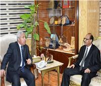 محافظ أسوان يستقبل القنصل السوداني في مصر
