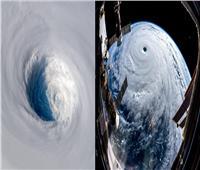 شاهد| «رائد فضاء» يلتقط صورا مذهلة لإعصار مدمرا يتجه نحو «اليابان»