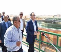 رئيس الوزراء يتفقد محطة مياه الشرب بسوهاج الجديدة