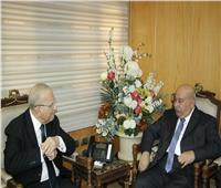 وزير العدل يبحث مع السفير الكويتي تعزيز التعاون القضائي
