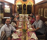بالصور| وزير شئون المغتربين الأرميني يزور خان الخليلي وحي الأزهر