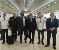 سفير مصر لدى الكويت يستقبل بعثة الزمالك استعدادا لمواجهة القادسية