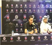 أبوجريشة: المباراة صعبة والروح القتالية سلاحنا لعبور عقبة الكويت