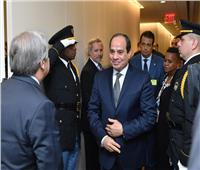 السيسي يستعرض الأوضاع الاقتصادية بمصر خلال لقائه بالرئيس السويسري