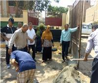 حراسة مشددة لتأمين مجمع مدارس «إسكو» بشبرا الخيمة