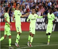 فيديو| برشلونة يضرب ليجانيس بهدف رائع في الشوط الأول