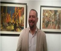 7 أكتوبر.. إفتتاح «نبض الألوان» لـ وائل حمدان
