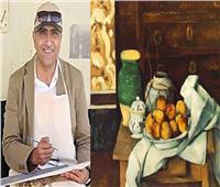 """""""زكى"""" يقيم ورشة طبيعة صامتة بمتحف محمود خليل"""