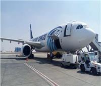 شاهد أول رحلة لطائرة بعد تحويلها من ركاب لـ«شحن» .. صور
