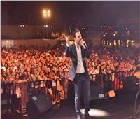 فيديو وصور| وائل جسار يتألق بأغنياته في الإسكندرية