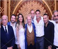 صور| نجوم الفن يحتفلون بعقد قران ابنة صلاح عبد الله