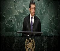 وزير خارجية الإمارات: هناك دول تقدم منصات إعلامية للإرهابيين