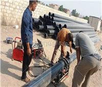 استكمال مشروع محطة الصرف الصحي بقرية «أولاد عزاز» في سوهاج