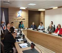مايا مرسى تستعرض جهود المجلس فى تمكين المرأة