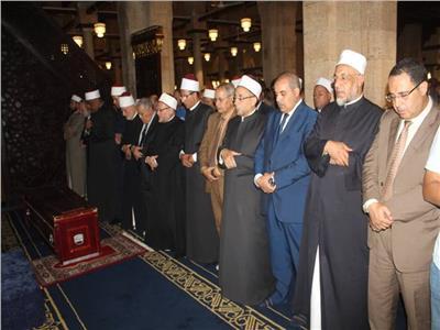 تشييع جنازة «أبو كريشة» من الجامع الأزهر