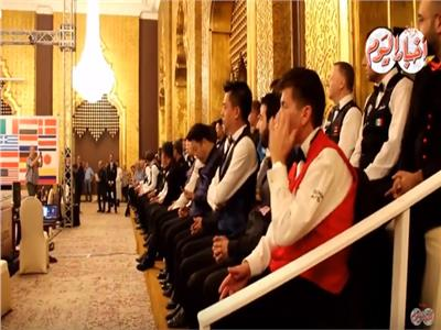 فيديو  افتتاح تاريخي لبطولة العالم للبلياردو في سفح الأهرامات