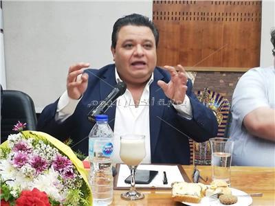 خالد جلال: الرئيس السيسي انتصر للمسرح