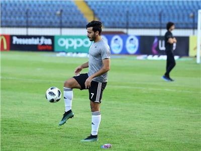 إصابة محمود شبراوي لاعب الجونة بقطع في الرباط الصليبي